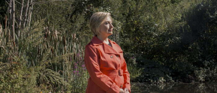 Hillary-Clinton-forestbathing-shinrinyoku-bañodebosque