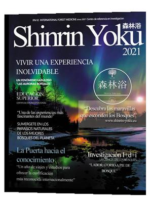 Rutas de baños de bosque más allá Shinrin Yoku
